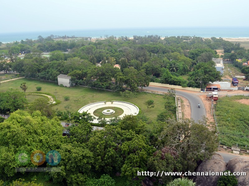 Mahabalipuram Town View from Light house