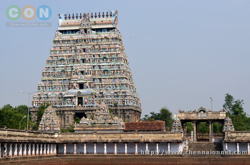Chidambaram Natarajar Temple tower