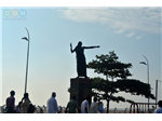 Kannagi statue at Marina Beach