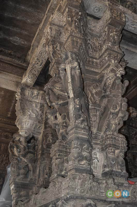 Varadharaja Perumal Temple 100 pillared Hall, Kanchipuram