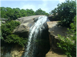 Jalagamparai falls at Yelagiri.
