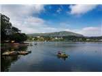 Boating at Yelagiri Hill Lake.