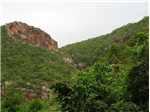 A view of hills on the way to Tada waterfalls, North of Chennai and Southern Andhra.