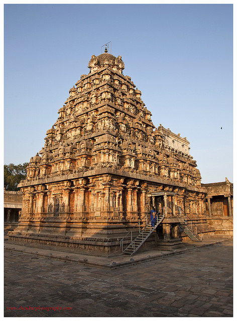 Darasuram Airavateshwara Temple at Kumbakonam, a UNESCO monument build by King Rajaraja Chola II.