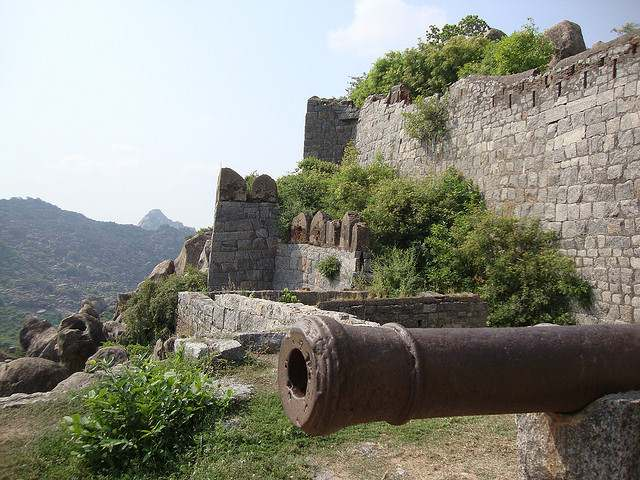 The old tanker at Gingee Fort or Senji Fort or Chenji Fort.