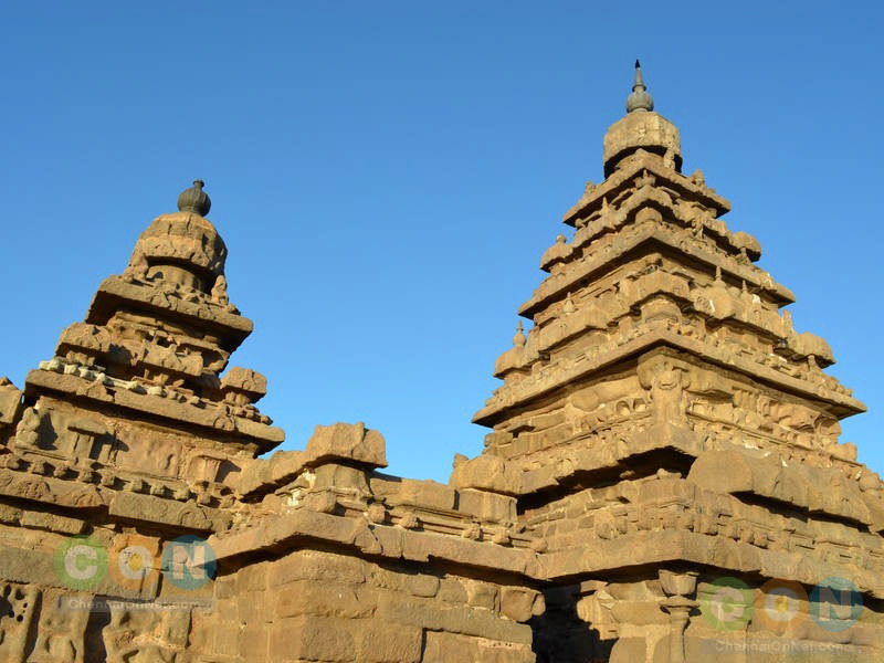 All 3 towers of Shore temple