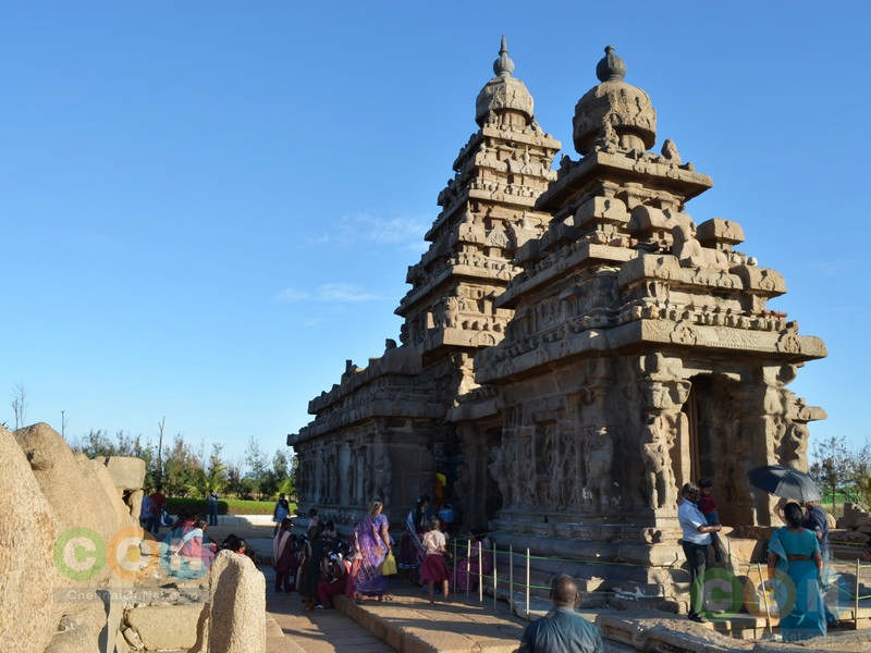 side view of Shore temple
