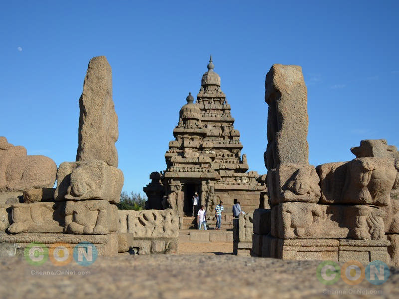 Shore Temple view
