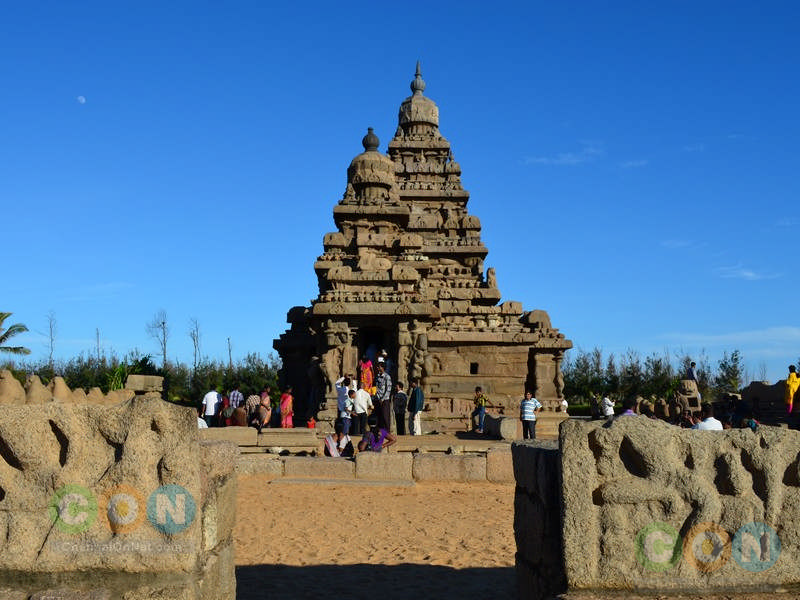 Full view of Shore temple