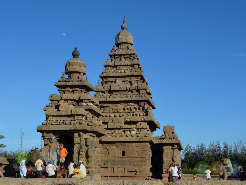 Full temple view of Shore temple