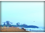 Indeco Resorts Shore temple view from beach